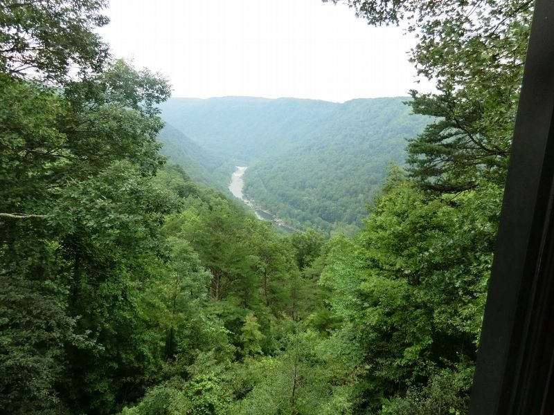 New River Gorge image. Click for full size.