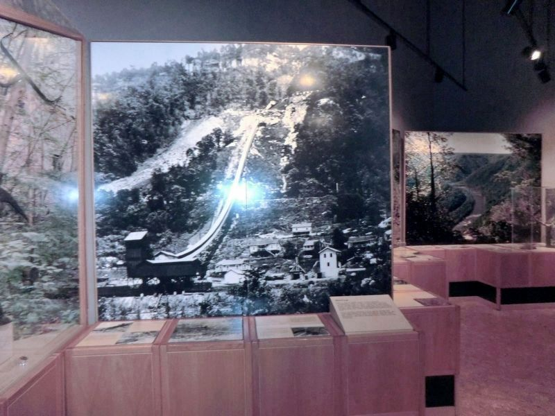 Inside the visitor center-Photo of the Kaymoor Mine image. Click for full size.