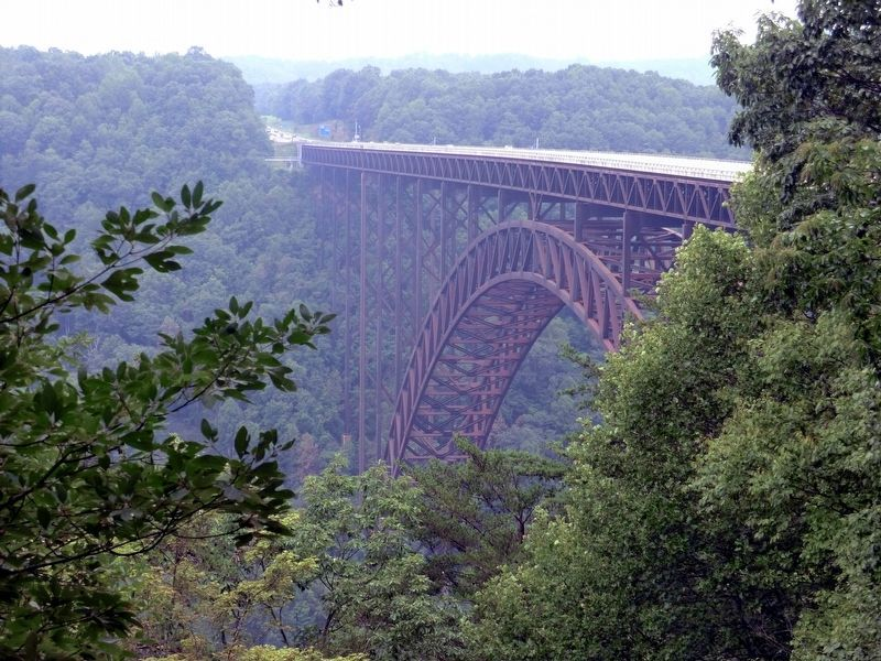 New River Gorge Bridge image. Click for full size.