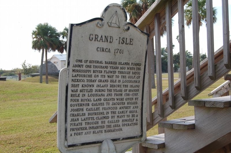 Grand Isle Marker image. Click for full size.