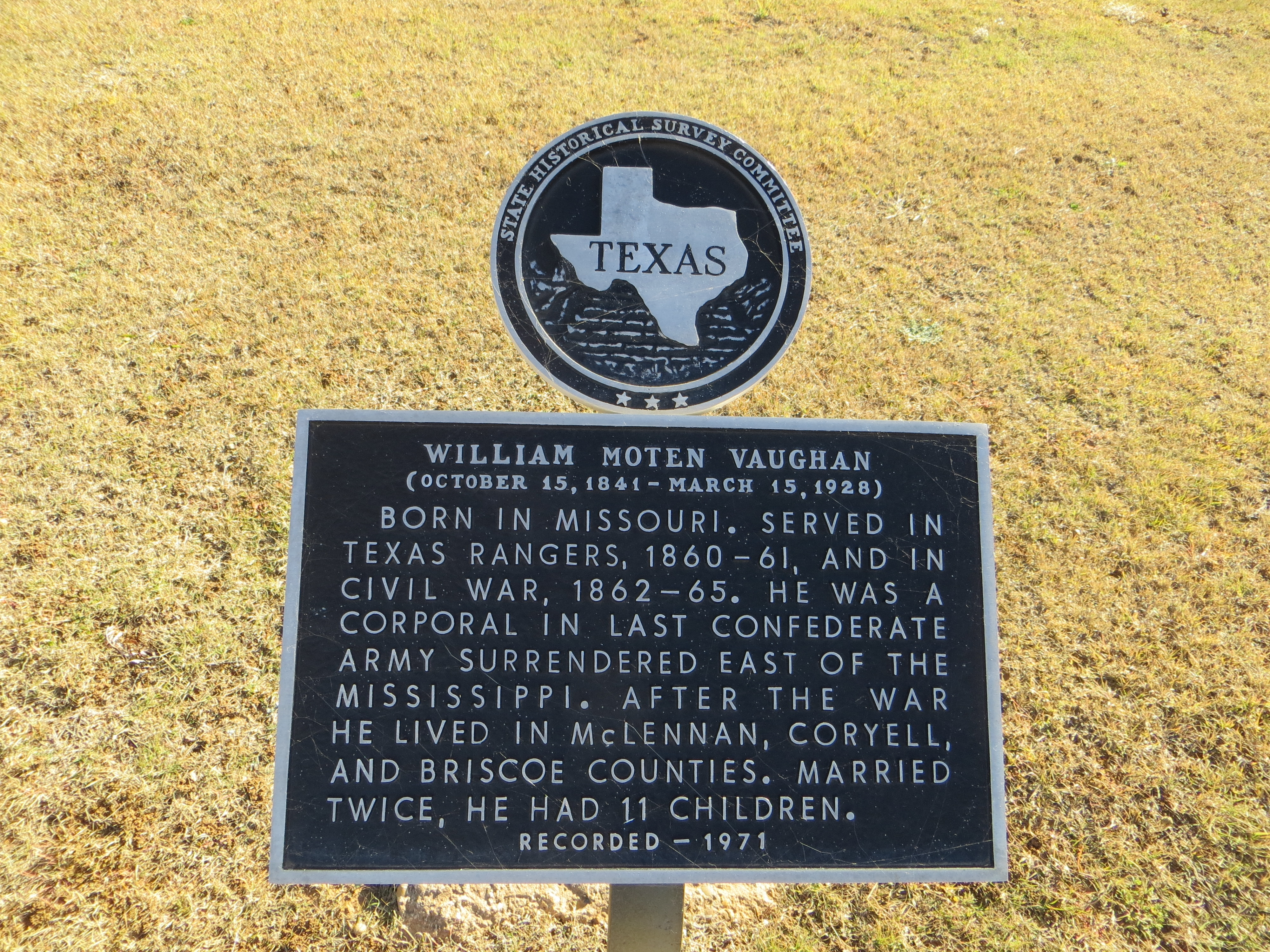 William Moten Vaughan Marker