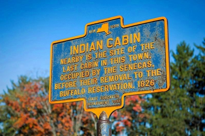 Indian Cabin Marker image. Click for full size.