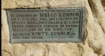 Wales Arnold Marker image. Click for full size.