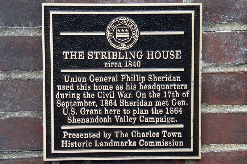 Stribling House marker image. Click for full size.