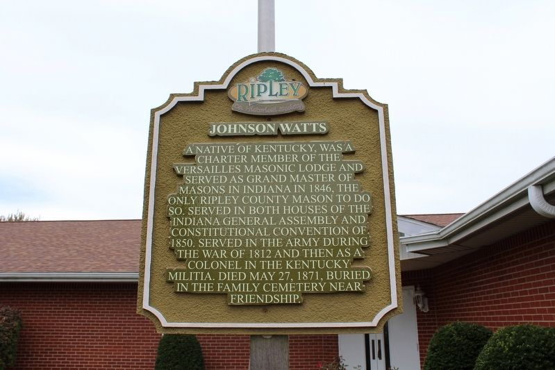 Johnson Watts Marker image. Click for full size.