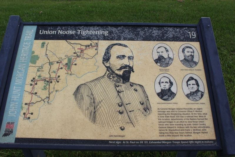 Union Noose Tightening Marker image. Click for full size.