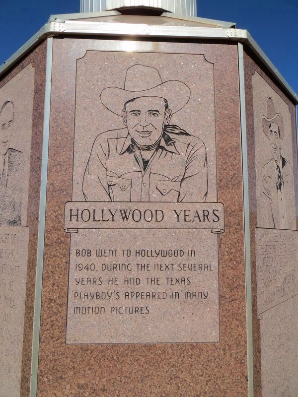 Bob Wills Marker (sixth side) image. Click for full size.