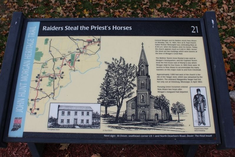Raider's Steal the Priest's Horses Marker image. Click for full size.