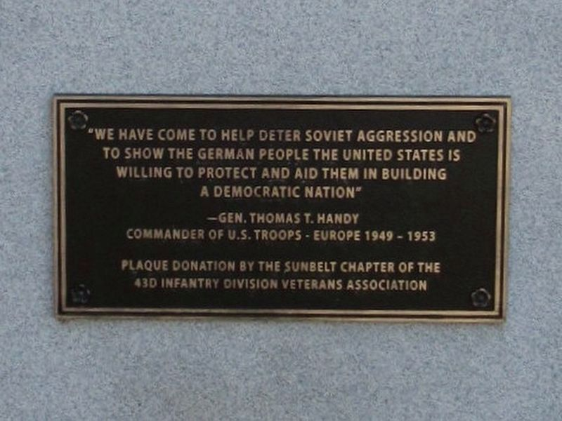 43rd Infantry Division Monument image. Click for full size.