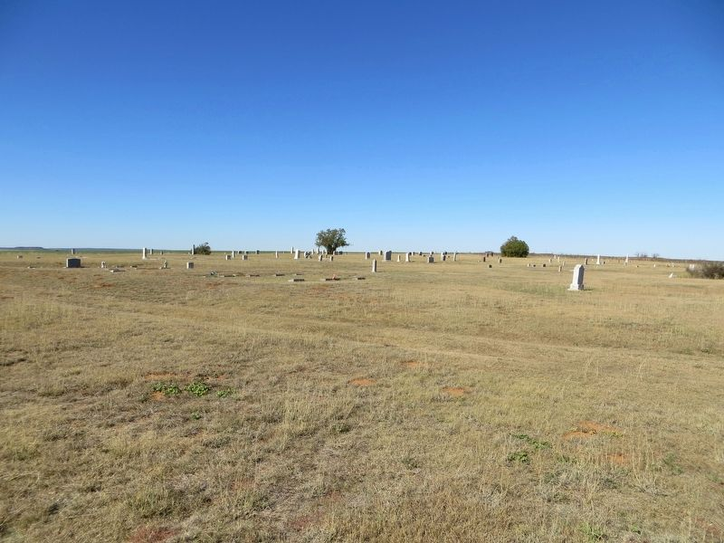 Newlin Cemetery image. Click for full size.