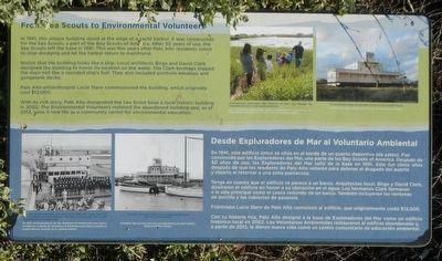 From Sea Scouts to Environmental Volunteers Marker image. Click for full size.