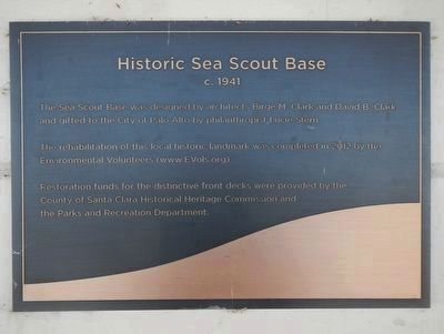 Historic Sea Scout Base image. Click for full size.