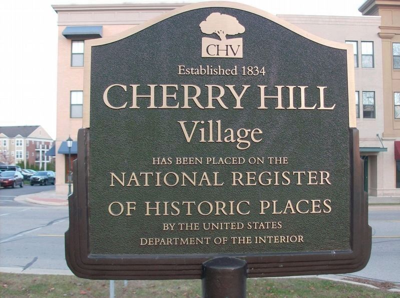Cherry Hill Village Sign image. Click for full size.