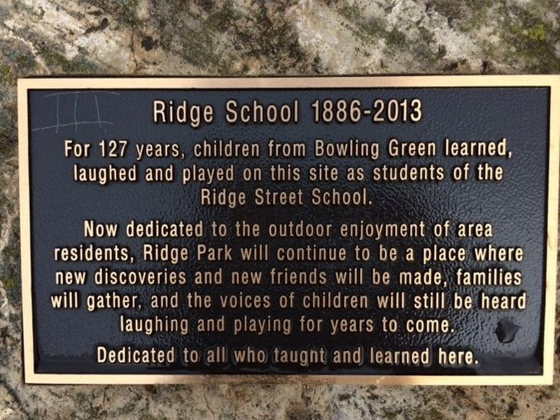 Ridge School 1886-2013 Marker image. Click for full size.
