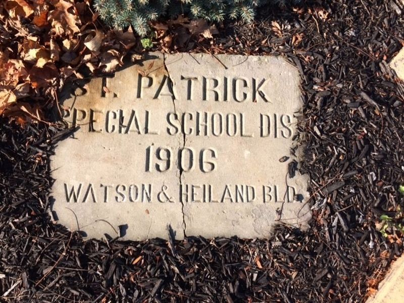 St. Patrick Catholic Church Marker image. Click for full size.