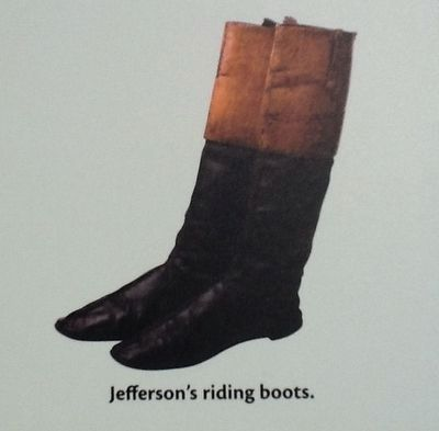 Jefferson's riding boots image. Click for full size.