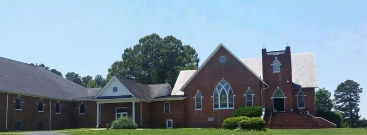 First Baptist Church, Heathville Virginia image. Click for full size.
