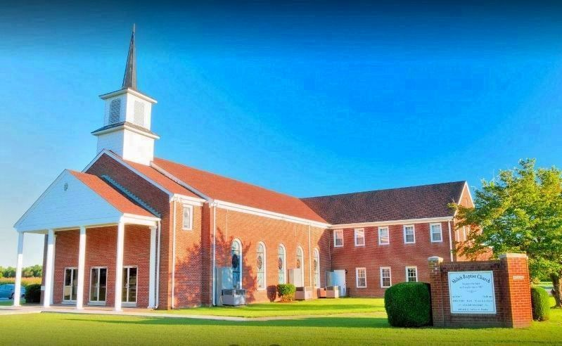 Shiloh Baptist Church, Reedsville Virginia image. Click for full size.