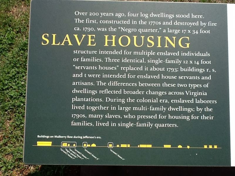 Slave Housing Marker image. Click for full size.