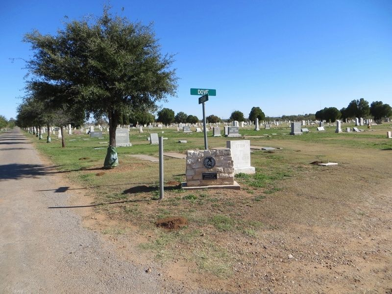 Childress Cemetery Marker image. Click for full size.