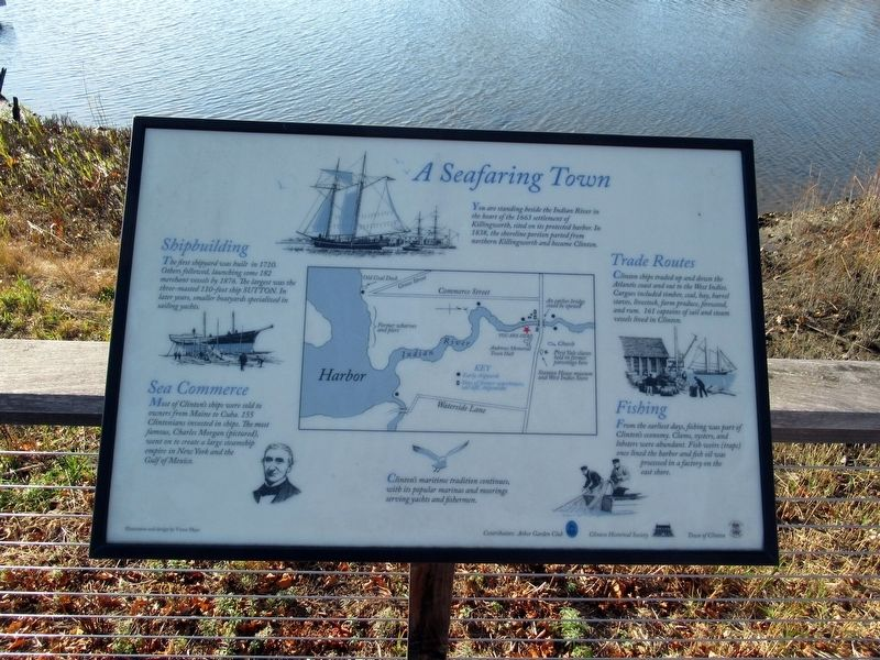 A Seafaring Town Marker image. Click for full size.