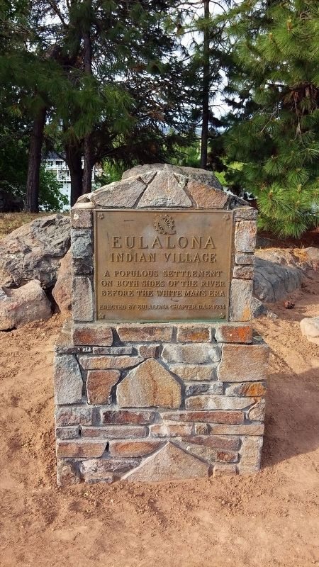 Eulalona Indian Village Marker image. Click for full size.