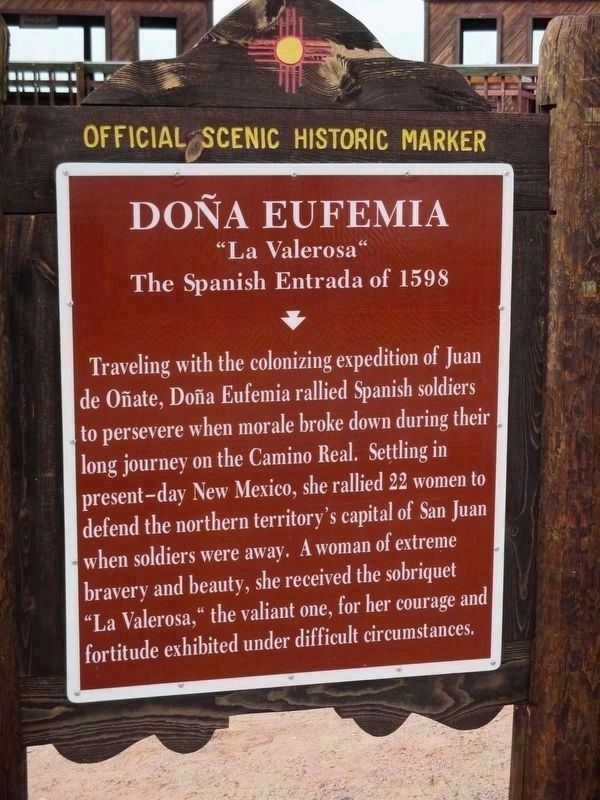 Doña Eufemia Marker image. Click for full size.