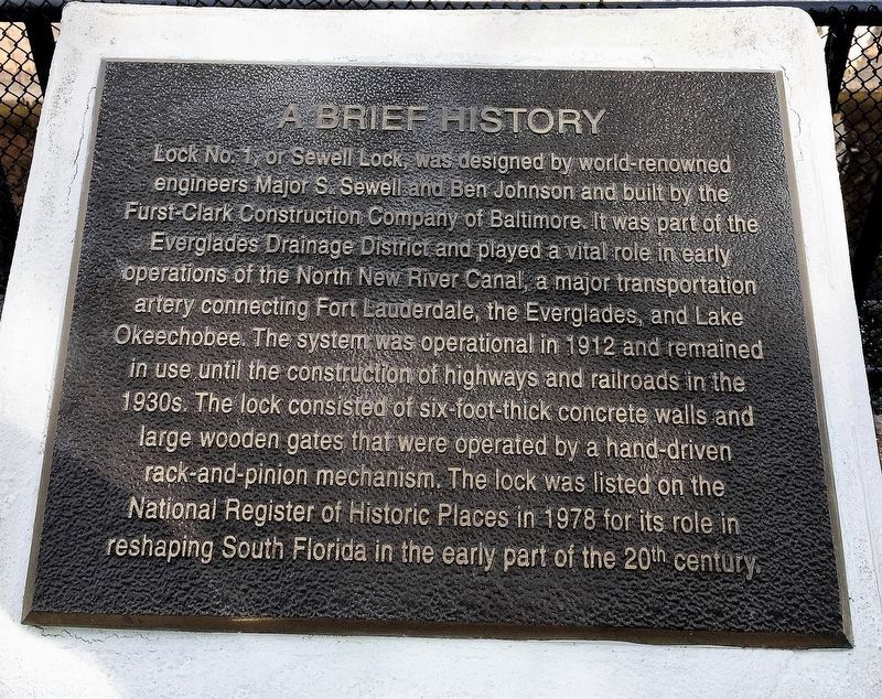 A Brief History Marker image. Click for full size.