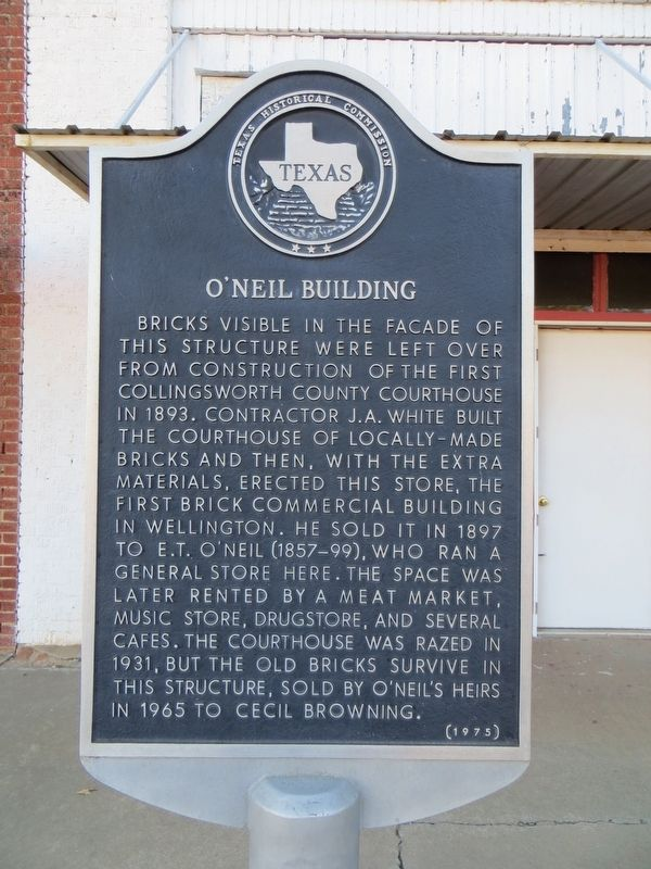 O'Neil Building Marker image. Click for full size.