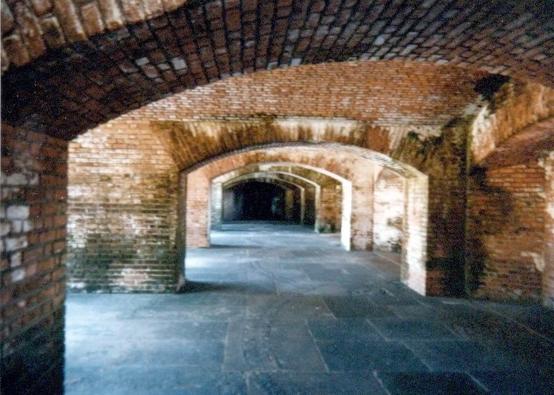 Gunrooms-Casemates image. Click for full size.