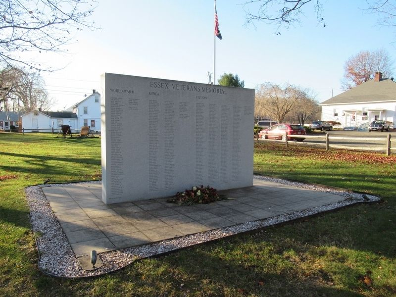 Essex Veterans Memorial image. Click for full size.
