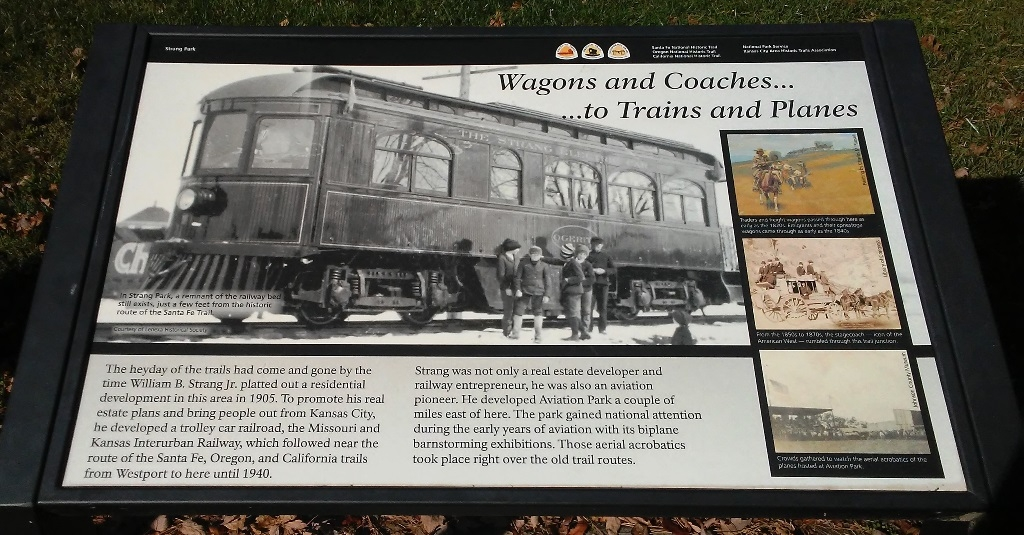 Wagons and Coaches... ...to Trains and Planes Marker
