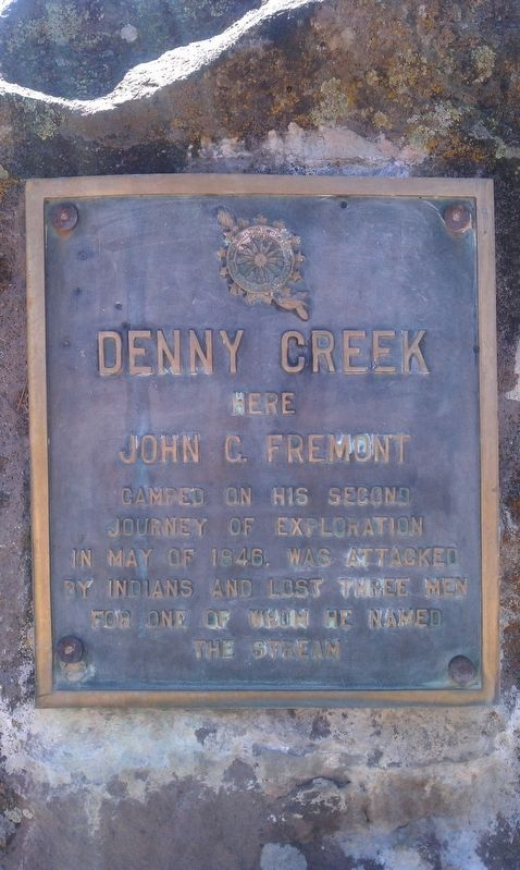 Denny Creek Marker image. Click for full size.