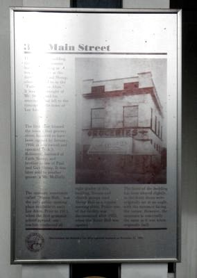 306 Main Street Marker image. Click for full size.