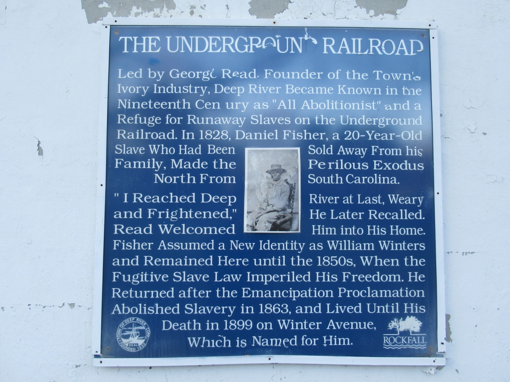 The Underground Railroad Marker