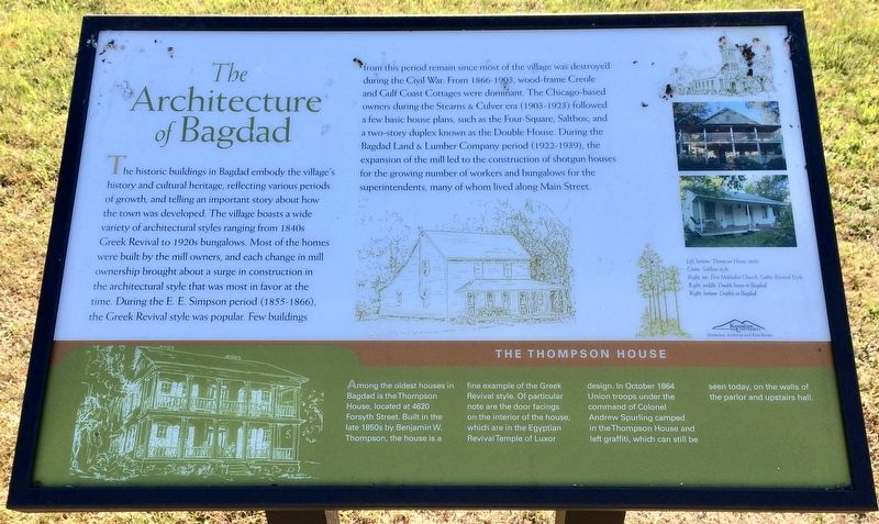 The Architecture of Bagdad Marker image. Click for full size.