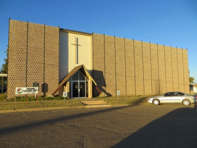 Shamrock Methodist Church image. Click for full size.