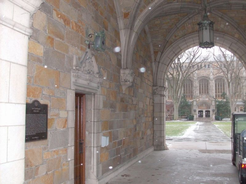 Law Quadrangle Marker image. Click for full size.