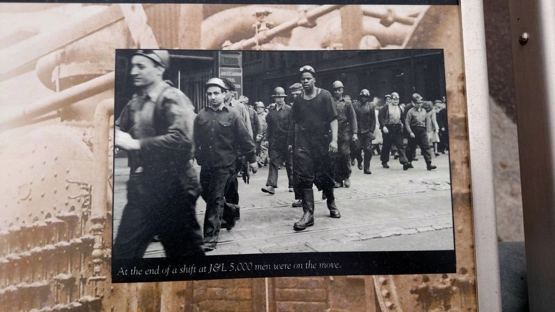 Iron and Steel Workers photo image. Click for full size.
