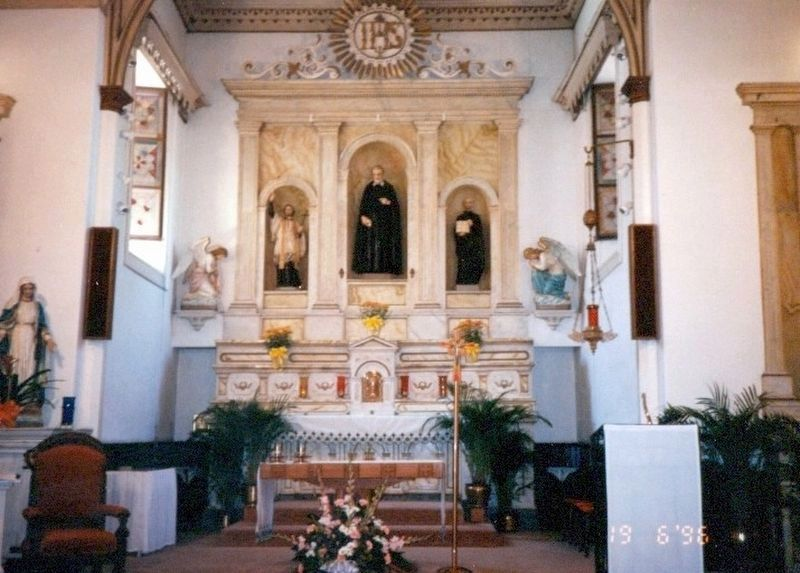 Inside San Felipe De Neri Church image. Click for full size.