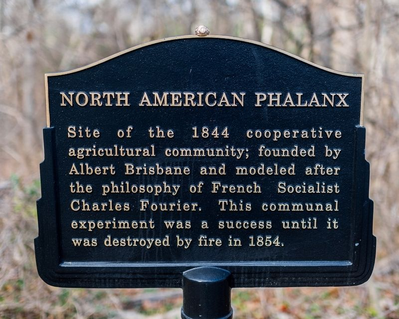 North American Phalanx Marker image. Click for full size.