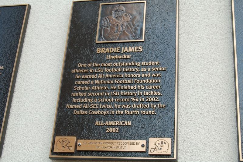 Bradie James Marker image. Click for full size.