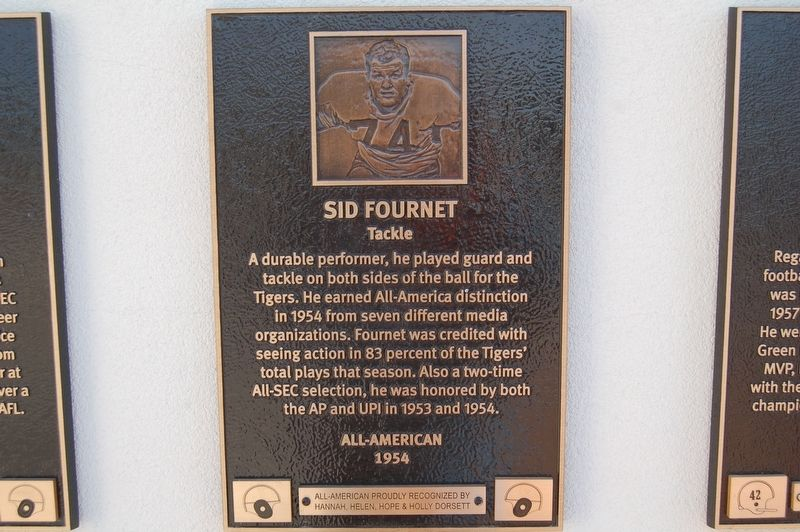 Sid Fournet Marker image. Click for full size.