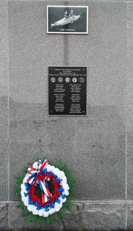 Pearl Harbor Memorial image. Click for full size.