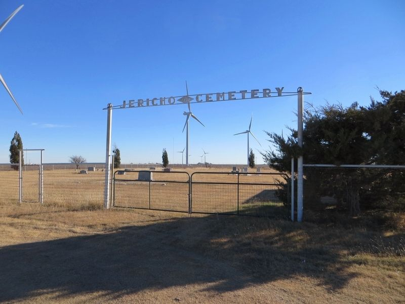 Jericho Cemetery image. Click for full size.