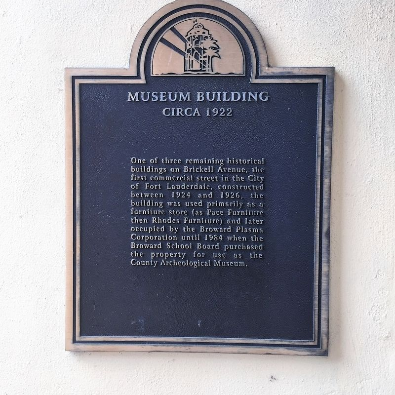 Museum Building Marker image. Click for full size.
