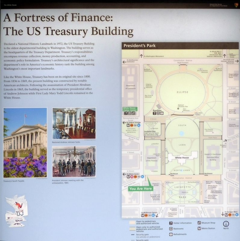 A Fortress of Finance Marker image. Click for full size.