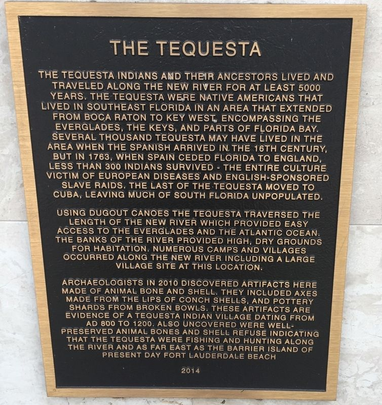 The Tequesta Marker image. Click for full size.