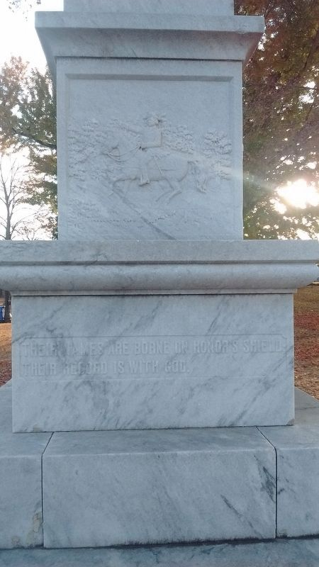 Confederate Monument (right side) image. Click for full size.