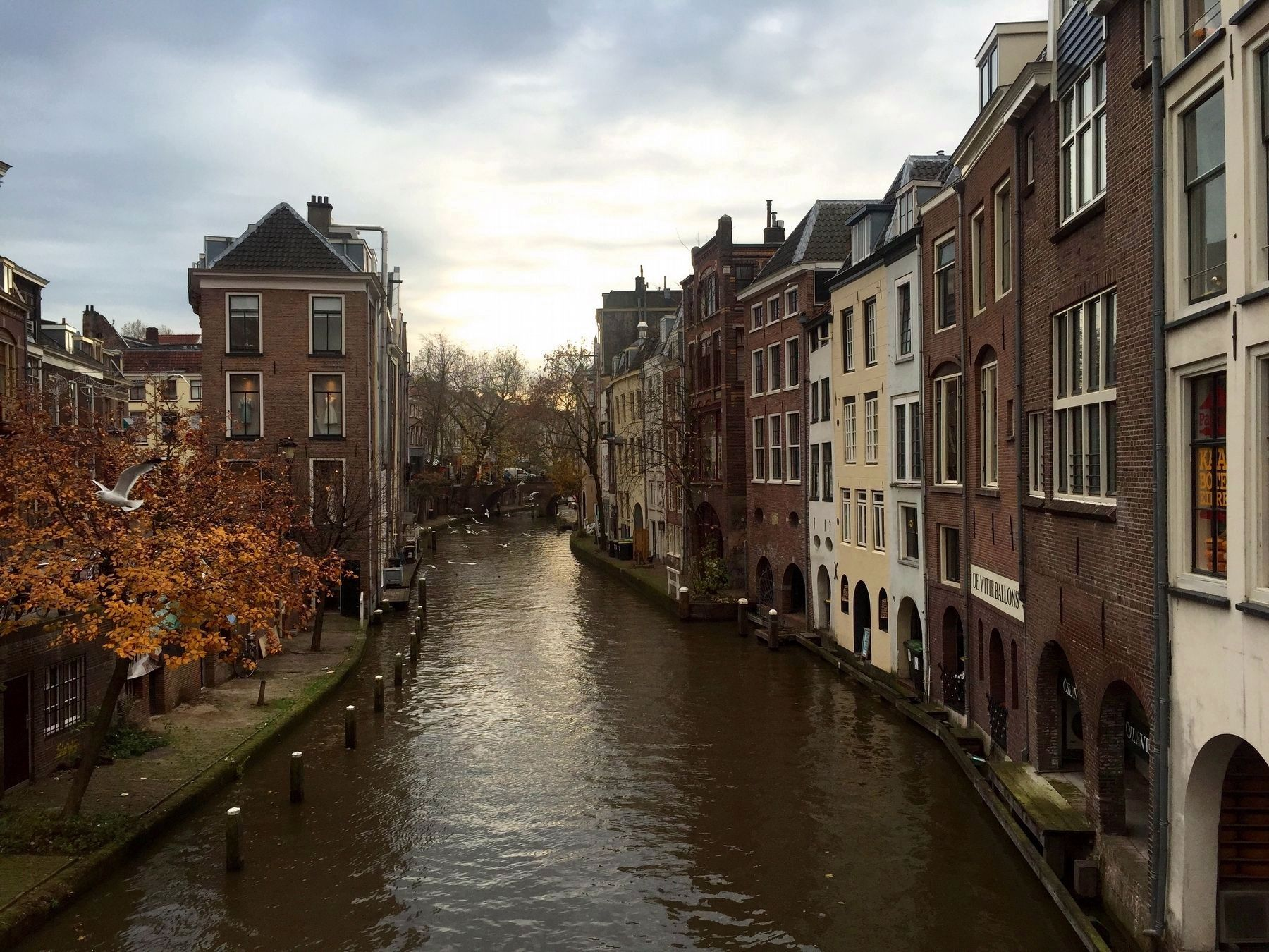 Oude Gracht / The Old Canal from the Maartensbrug (Looking South) image. Click for full size.
